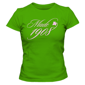 Alpha Kappa Alpha Made 1908 T-Shirt