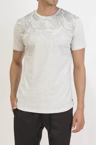SPRINGER FADED PRINTED T-SHIRT (H. GRAY)