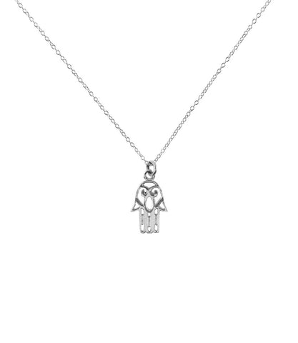 SHANASA STERLING SILVER CHARM NECKLACE - HARMONY