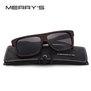 MERRY'S Wooden Sunglasses HAND MADE 100% UV Protection