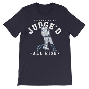 "AARON JUDGE ""ALL RISE"" YANKEE'S BASEBALL UNISEX T-SHIRT"