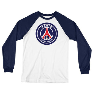 Paris PSG Long Sleeve Baseball T-Shirt