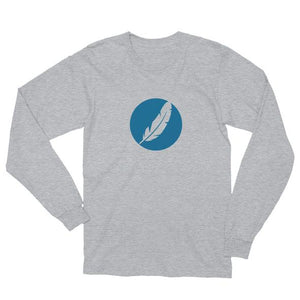 Inverted Feather Logo Long Sleeve (Unisex)