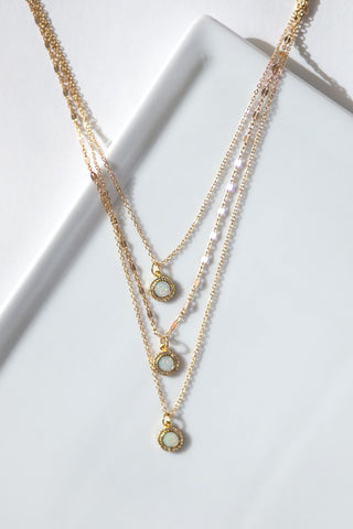 Three Row Necklace
