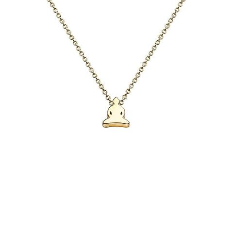 Buddha Necklace in 18k Gold