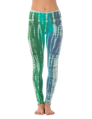 Long Leggings - Cosmic Wash