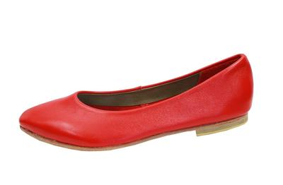PALESA FLAT IN CHERRY RED