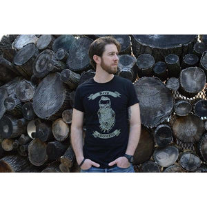 Keep Growing - Men's Black Organic Cotton T-shirt