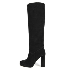 Ribes suede, black