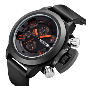 MEN'S LUXURY STYLED QUARTZ CHRONOGRAPH WATCH