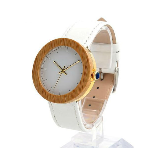 Quartz Genuine Leather Wristwatch