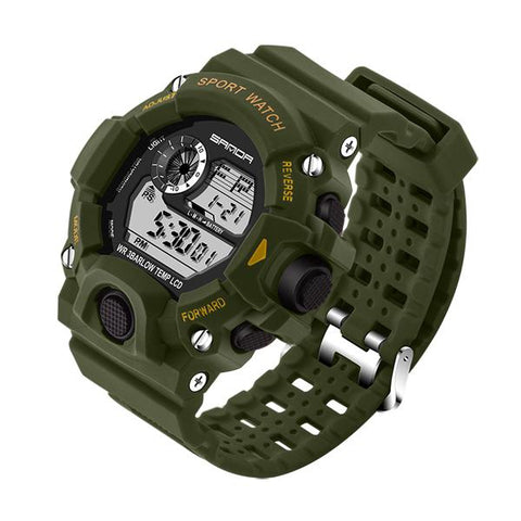 GENEVA MILITARY DIGITAL WATERPROOF WATCH