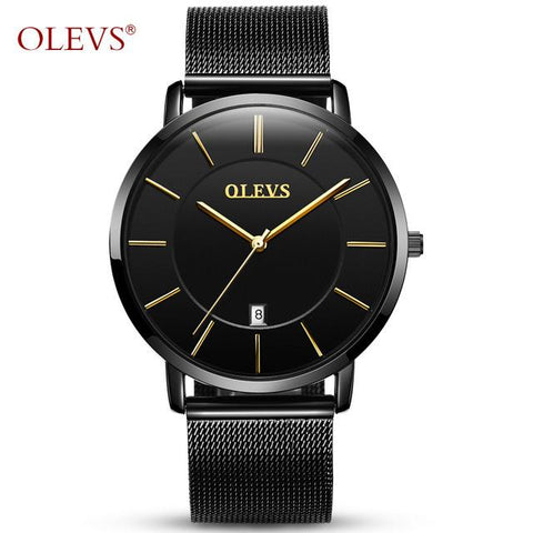 Ultra thin Stainless Steel Watches for Men