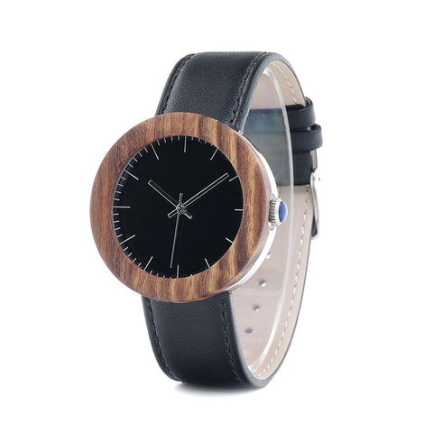 Quartz Wood Watch