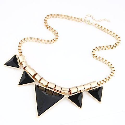 Triangle Choker Necklaces
