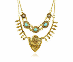 Bohemian Long Statement Necklace