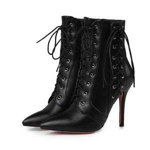 Lace-Up Obsession Boots