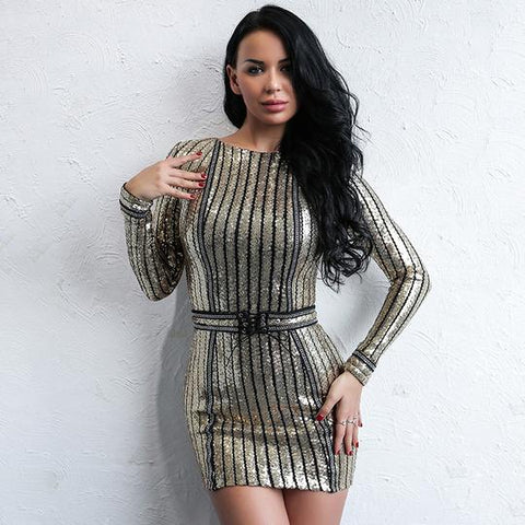 Vestidos Sexy Sheath Mini Dress