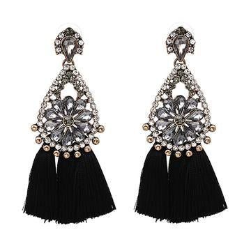 GOTHIC SYLVIE - NEW TRENDY ETHNIC BOHEMIA TASSEL EARRINGS