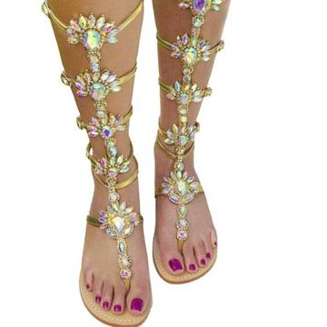Ashani Jeweled Sandals