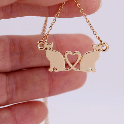 My Buddy Cat Cute Necklace