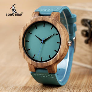 STYLISH MENS WATCH IN A WOODEN CASE, MODEL 2018