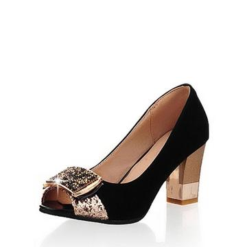 Elegant Peep Toe High Heels Shoes for Woman's