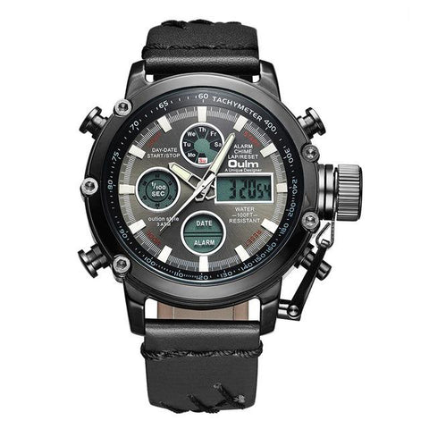 OULM Traveller Dual Display watch