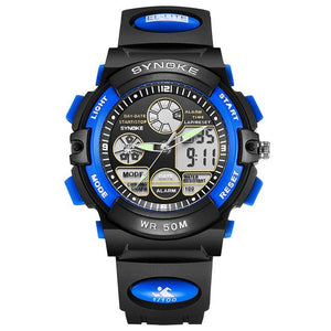 50M WATERPROOF BACK LIGHT LED DIGITAL WATCH!