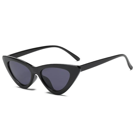 HJYBBSN FASHION Sexy Cat Eye Sunglasses Triangle Small Size