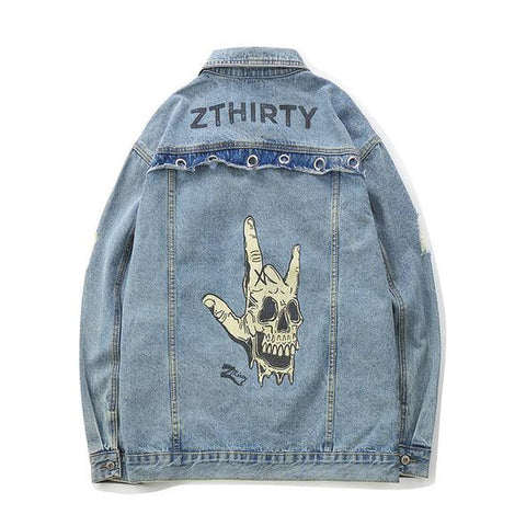 ROCK ON Denim Jacket