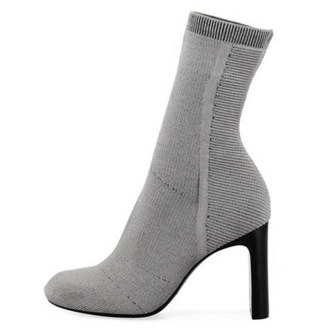 Rag & Bone Ellis Grey Knit Bootie
