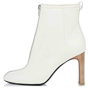 Rag & Bone Ellis Leather Block Heel Ankle Boot