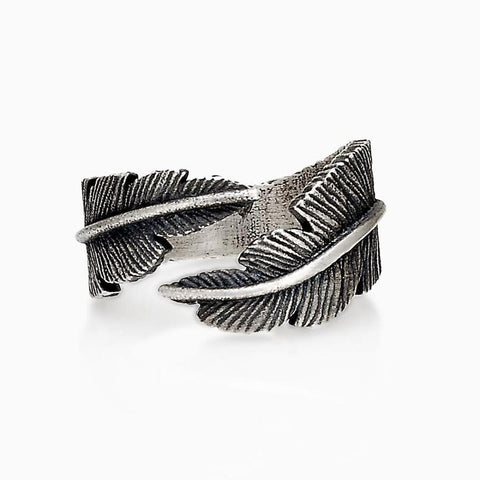 FEDE FEATHER RING