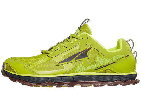 Altra Lone Peak 4.5 Low Men's Shoes Lime/Red