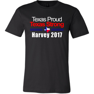 Harvey Survivor T Shirt - Texas Proud & Strong Hurricane Harvey 2017