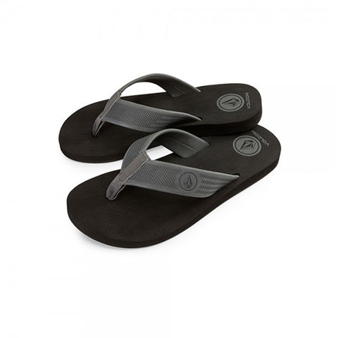 TONGS VOLCOM DAYCATION BLACK