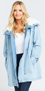 SHOW ME YOUR MUMU MONTANA DENIM JACKET