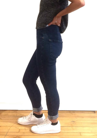 HIGH RISE SKINNY ATHENA PULL ON