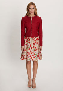 Cameron Jacket in Red Acer