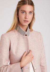 Tallulah Jacket in Pale Pink Acer