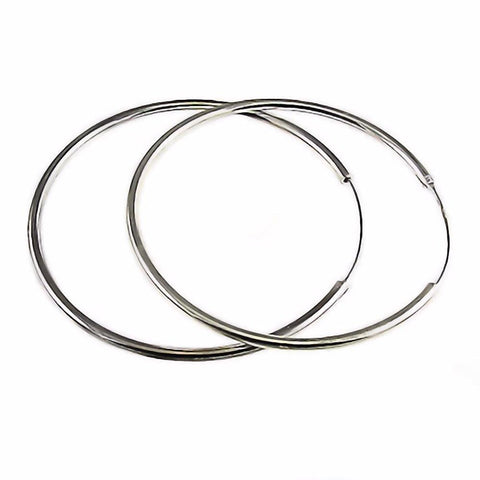 Large Hip Hop Endless Hoop Earrings