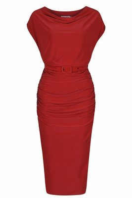 BILLIE DEEP RED DRESS