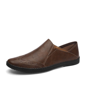 Men's Four Seasons Slip on Leather Penny Loafer