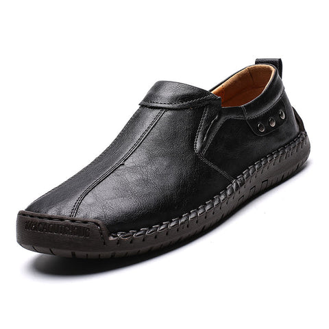 Men's Four Seasons Handmade Synthetic Leather Dress shoes