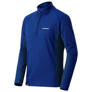 US MERINO WOOL PLUS ACTION ZIP NECK MEN'S