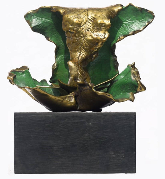 Ganpati bronze sculpture