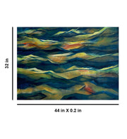 Measurement of Synchronized Waves Painting by Seby Augustine