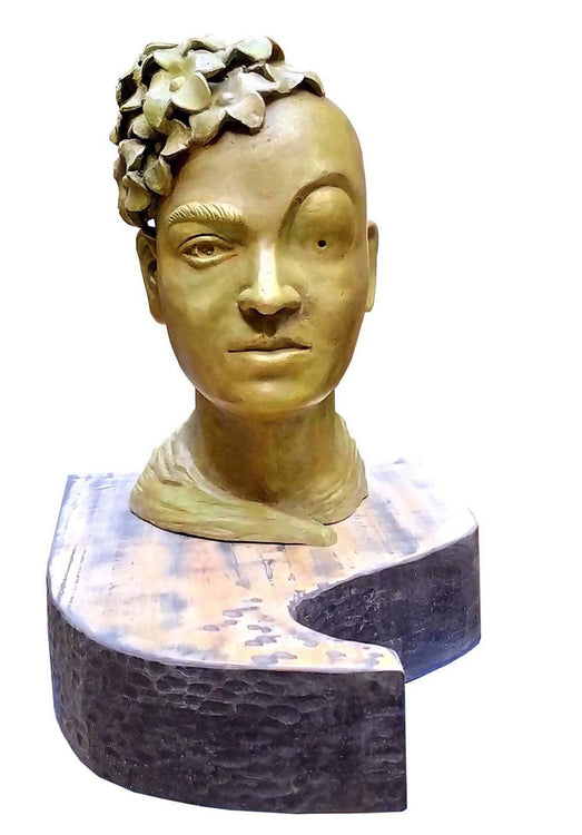 Frida Kahlo Sculpture by Sukanta Chowdhury