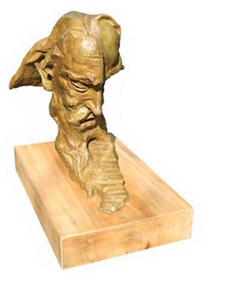 The Great Poet Sculpture by Sukanta Chowdhury